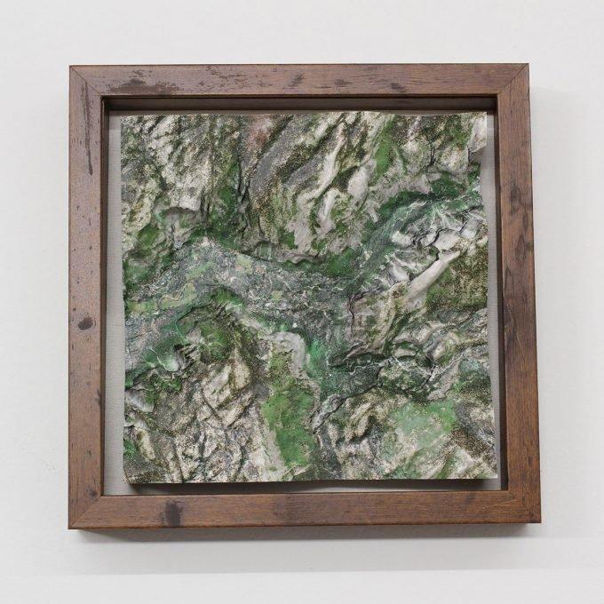 yosemite with frame