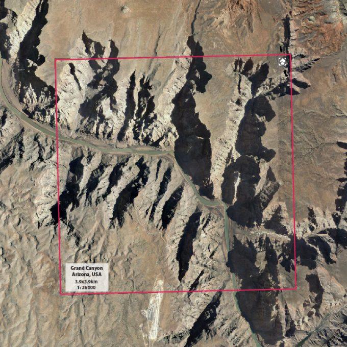 Grand Canyon info card