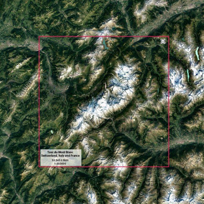 Tour du Mont Blanc info card